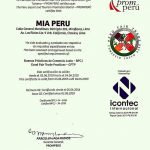 fairtrade-certificaat MIA Peru